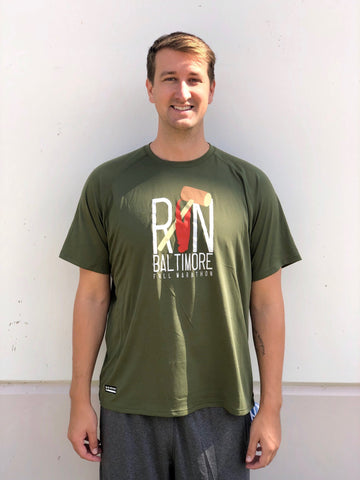 Men's Claw Army Green Tee