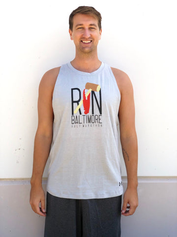 Men's Claw Gray Tank