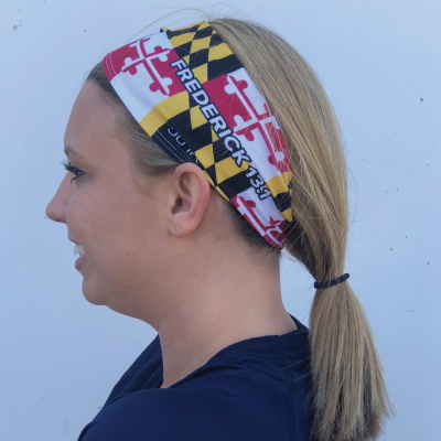 Fredrick Maryland Flag Head Band