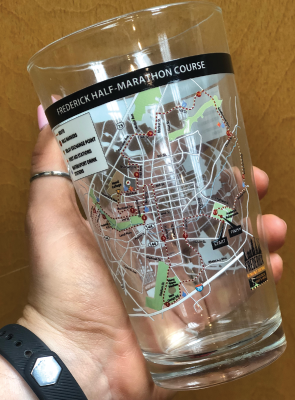 FRF Map Pint Glass