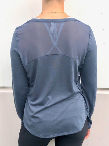 Claw Gray Blue Long Sleeve