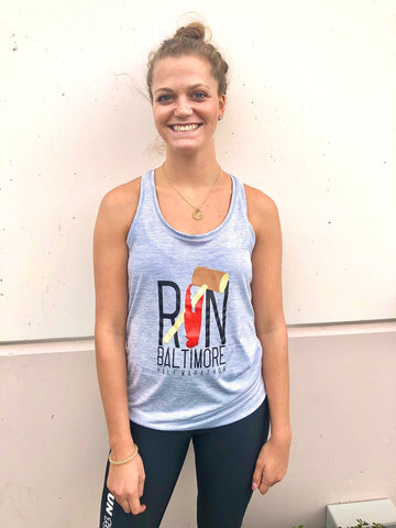 Women's 13.1 Claw Baby Blue Tank