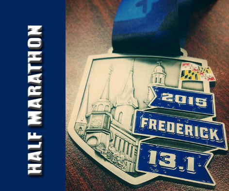 2015 Frederick Running Festival Replacement Medals