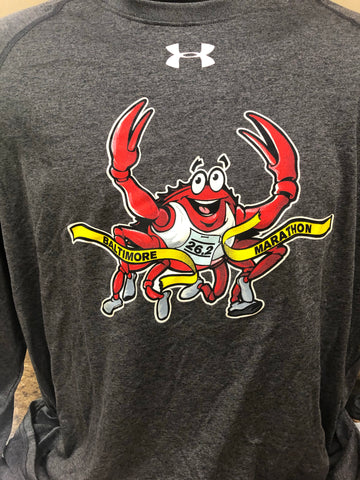 Blue The Crab Men's Short Sleeve Tech Tee - Assorted Colors