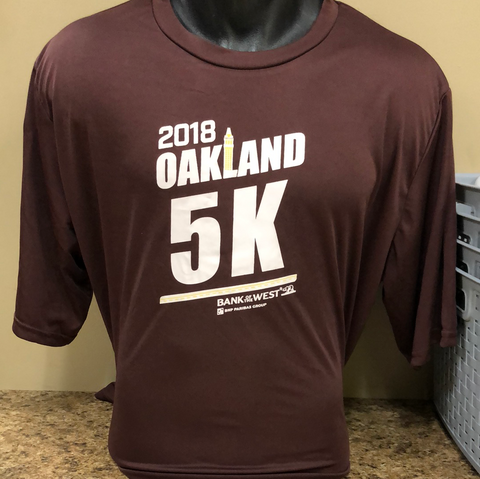 Men's 2018 5K Race Shirt