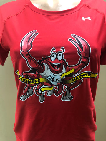 Blue The Crab Women's Short Sleeve Tech Tee - Assorted Colors