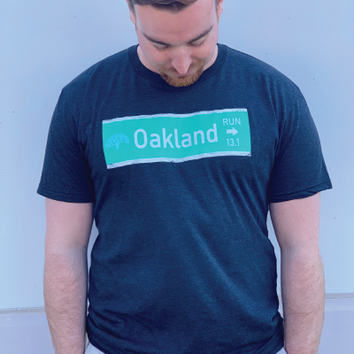Men's 13.1 Oakland Street Sign Tee