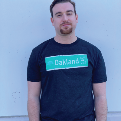 Men's 26.2 Oakland Street Signs Tee