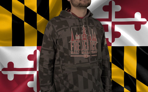2019 Fredrick 13.1 Flag Hoodies