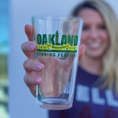 10 Year Anniversary Oakland Pint Glass