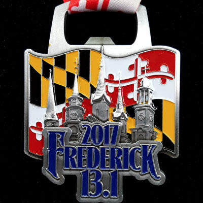 2017 Frederick Half Marathon Replacement Medal