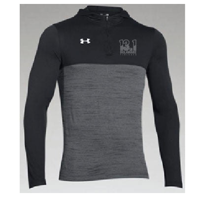 Men's Delaware Finisher 1/4 Zip pullover-13.1/Black/Gray
