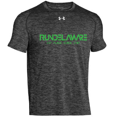 Men's Delaware 1st Place Since 1787 Twisted Locker T-Black