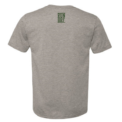 Men's Run Oakland Alternative Crew T- Heather Grey