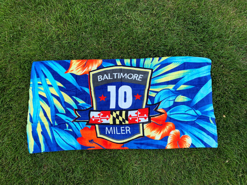 2019 B10 Beach Towel