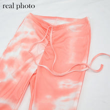 Load image into Gallery viewer, Tie Dye Bodycon Pant Set