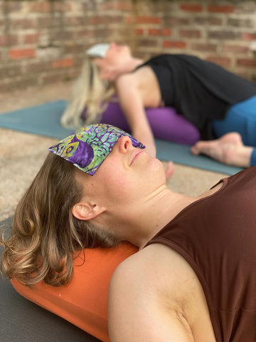 relax with Inner Space Yoga Eye Pillows