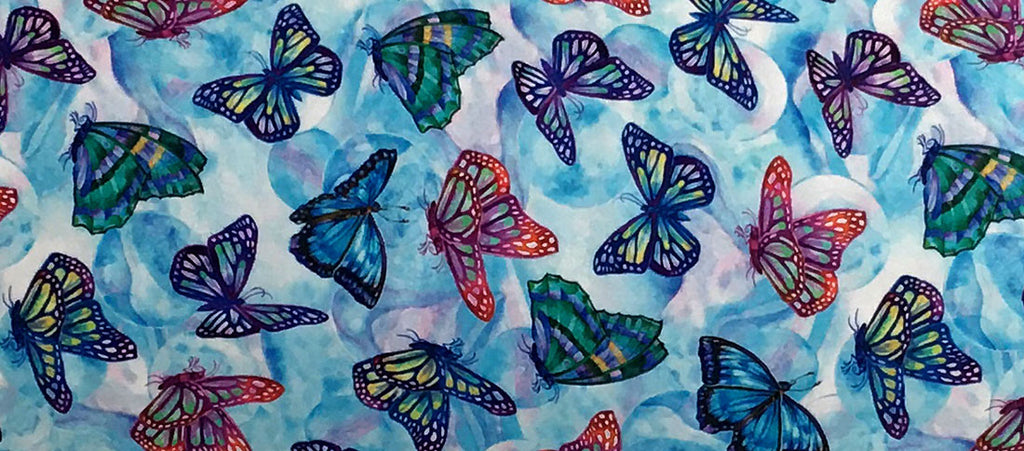 Inner Space Yoga - New Fabric - Float Like a Butterfly