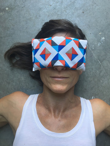 Geo Pop Eye Pillow