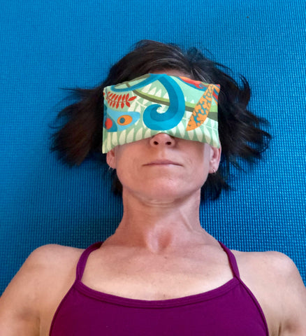 Wild Orchid Eye Pillow
