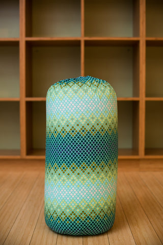 Electric Moss Round Bolster