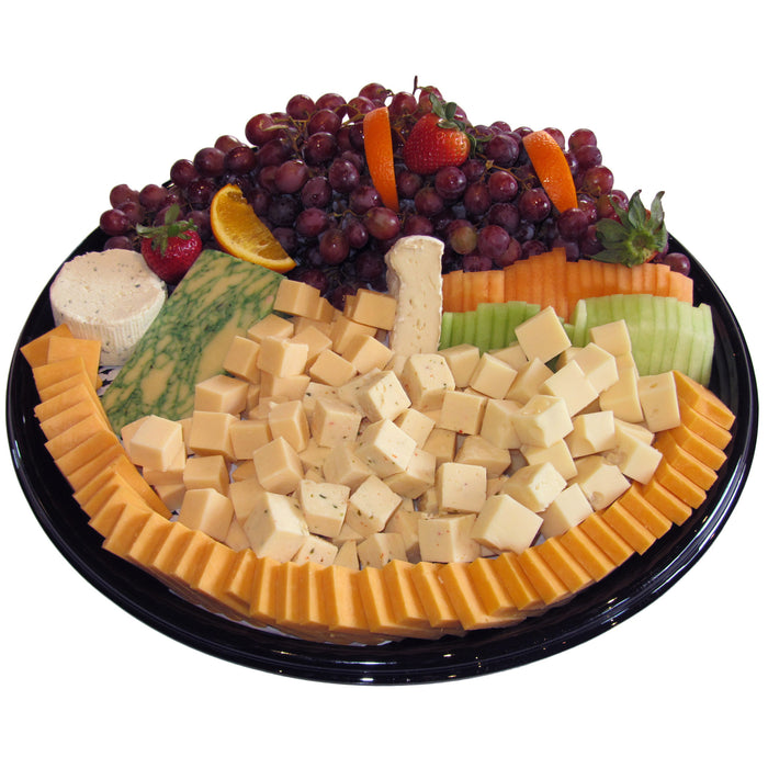 Domestic & Imported Cheese with Selection of Seasonal Fresh Fruit