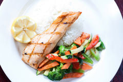 Roasted Maple Glazed Salmon