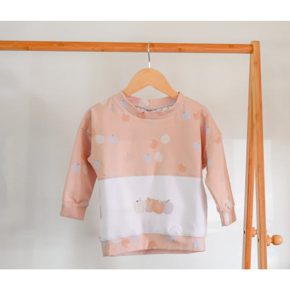 Baby/ Kids Long Sleeve Shirt | Pale Pumpkin