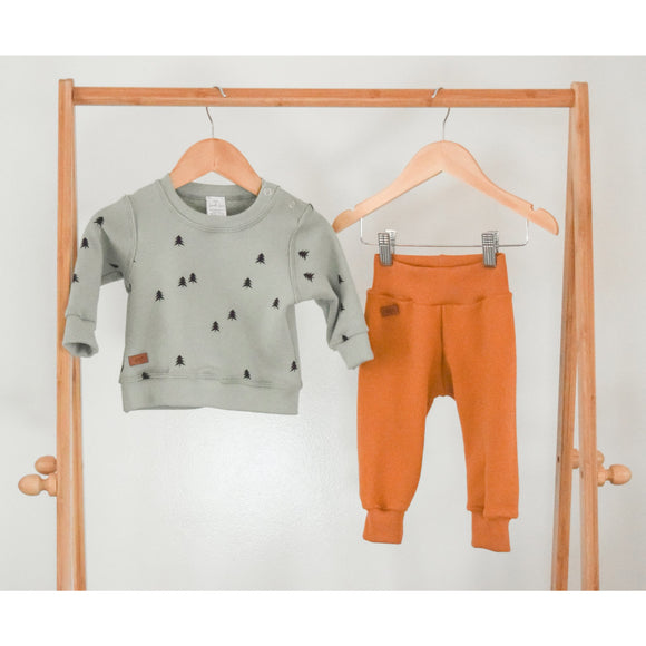 Trees sweatshirt and Pant Set