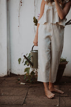 Load image into Gallery viewer, Willow High-Rise Linen Pants