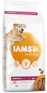 Iams Senior Large Vitality Chicken 12kg