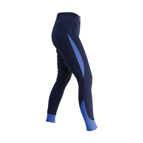 HY Sports Active Ladies Breeches Navy, Regal Blue