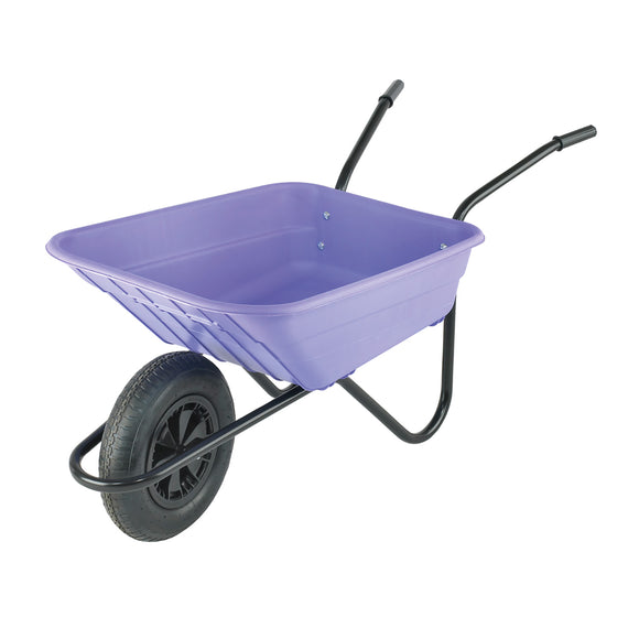 Multi-Purpose Wheel barrow 90ltr Lilac