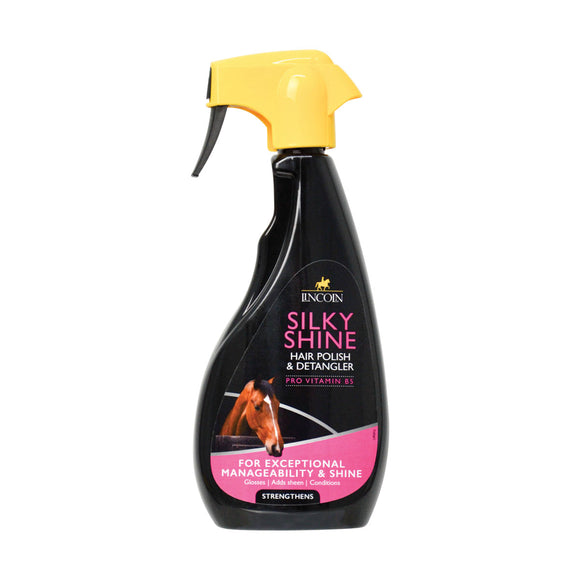 Lincoln Silky Shine Hair Polish And Detangler 500ml