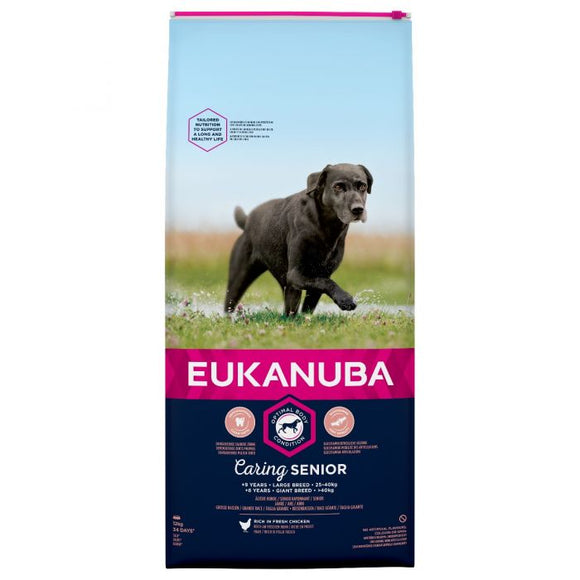 Eukanuba Caring Senior Large Breed 12kg