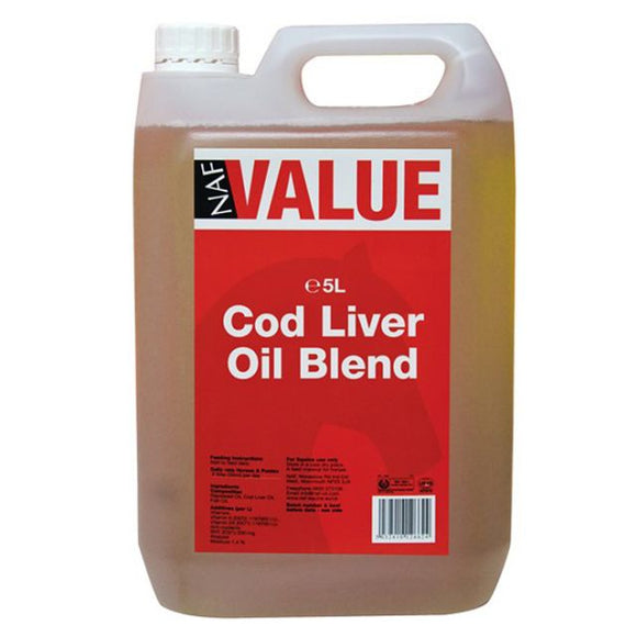 NAF Value Cod Liver Oil 5lt