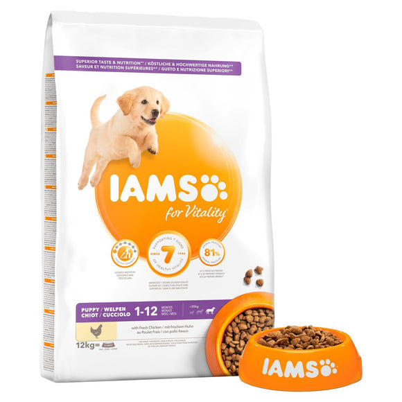 Iams Puppy Large Vitality Chicken 2kg
