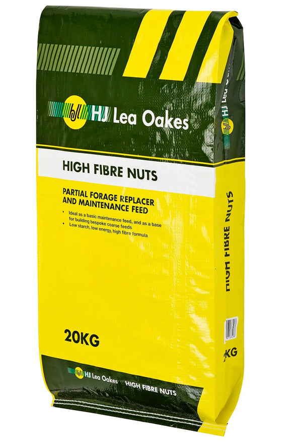 HJ Lea Oakes High Fibre Nuts 20kg