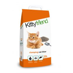Kitty Friend Clump Cat Litter 20ltr