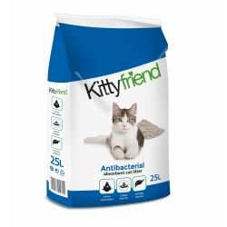 Kitty Friend Anti-Bac Cat Litter 25lt