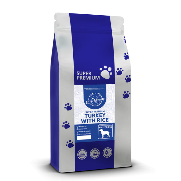 K9 Super Premium Adult Turkey & Rice 15kg