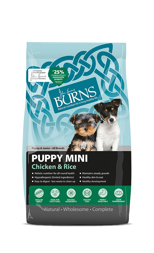 Burns Puppy Mini Chicken & Rice 2kg