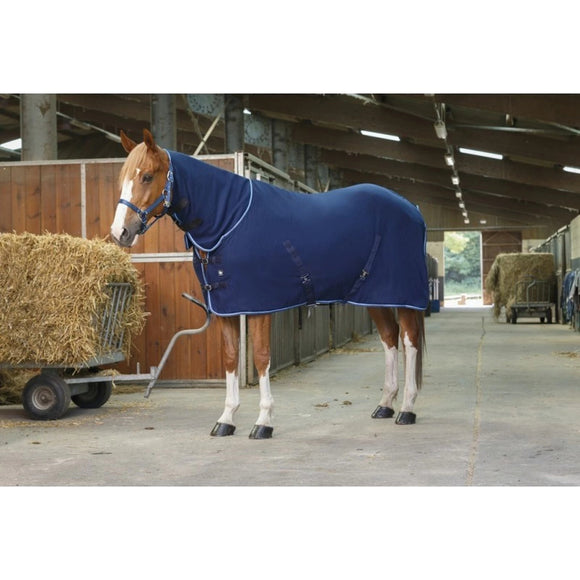 Ekkia Polar Fleece Rug With Neck Navy