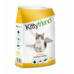 Kitty Friend Classic Cat Litter 30ltr