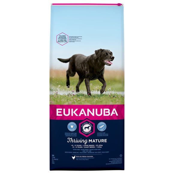 Eukanuba Thriving Mature Large Breed with Chicken