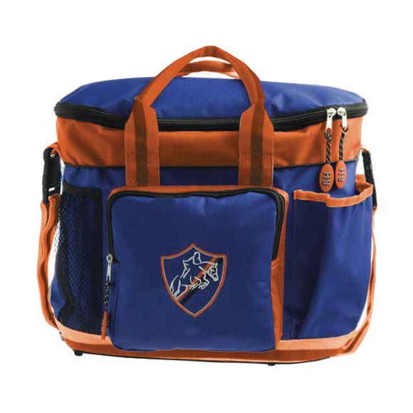 Hy Pro Grooming Bag Navy & Orange