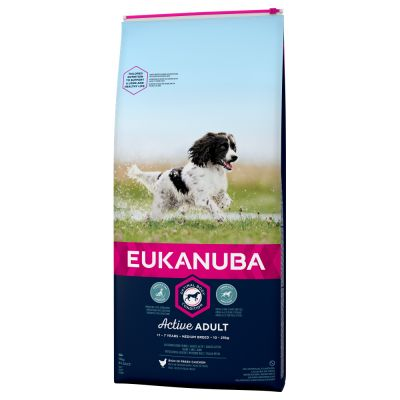 Eukanuba Active Adult Medium Breed 2kg