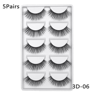 3D Mink eye Lashes Natural