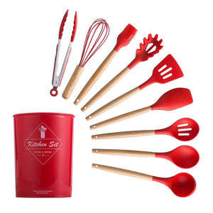 Silicone Kitchenware Cooking Utensils