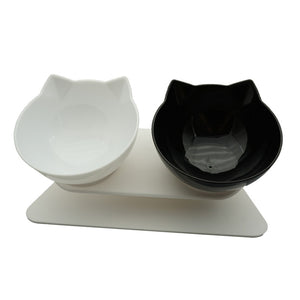 Non-slip Double Cat Bowl
